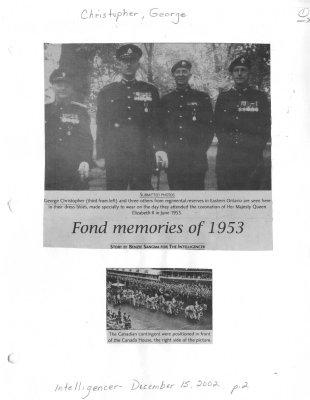 Fond memories of 1953