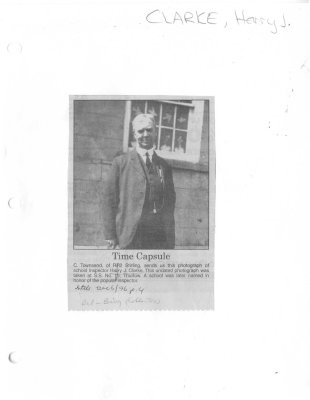 Time Capsule: Harry J. Clarke