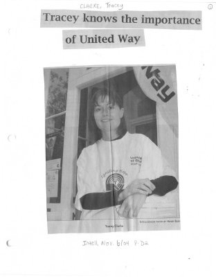 Tracey knows the importance of United Way