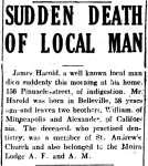 Harold, James (Died)