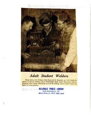 Adult Student Welders