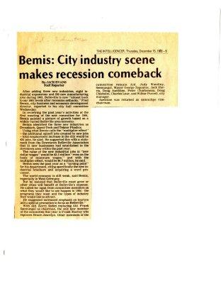 Bemis: City industry scene makes recession comeback