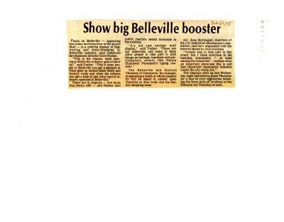 Show big Belleville booster