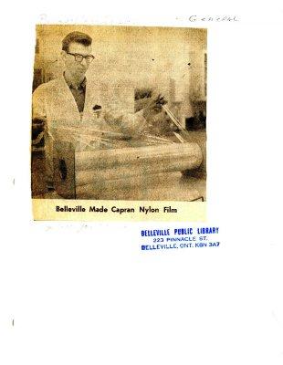 Belleville Made Capran Nylon Film