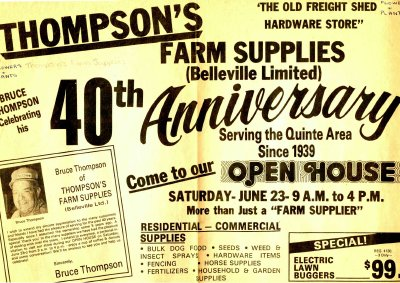 Thompson's Farm Supplies: 40th Anniversary