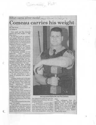 Comeau carries his weight