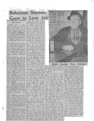 Reluctant Seaman Grew to Love Job