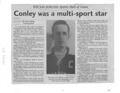 Conley was a multi-sport star