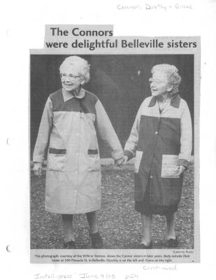The Connors were delightful Belleville sisters