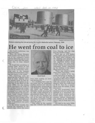 He went from coal to ice