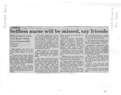 Selfless nurse will be missed, say friends