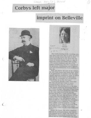 Corbys left major imprint on Belleville