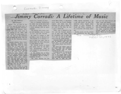 Jimmy Corradi: A Lifetime of Music
