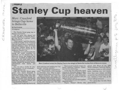 Stanley Cup heaven