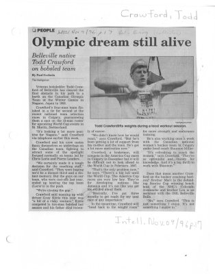 Olympic dream still alive