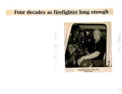 Four decades as firefighter long enough