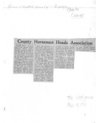 County Horseman Heads Association