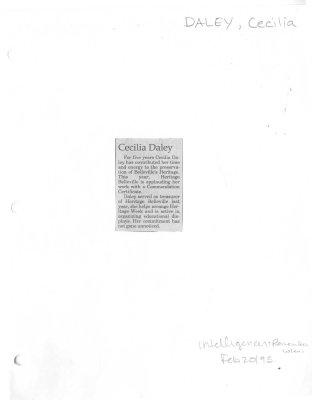Cecilia Daley