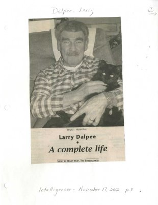 Larry Dalpee: A complete life