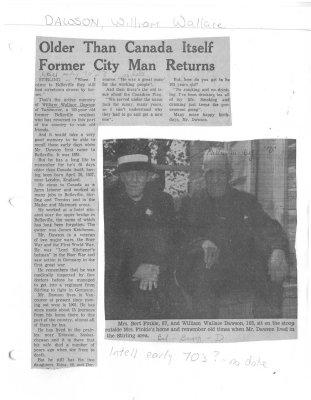 Older Than Canada Itself Former City Man Returns