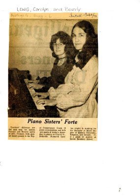 Piano Sisters' Forte