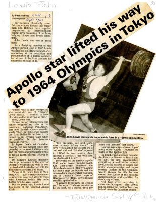 Apollo star lifted his way to 1964 Olympics in Tokyo