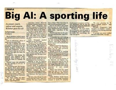 Big Al: A sporting life