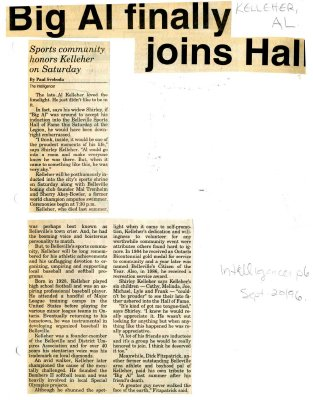 Big Al finally joins Hall