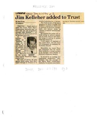 Jim Kelleher added to Trust