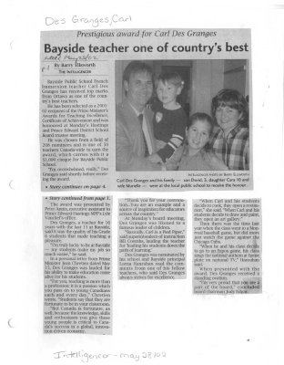 Bayside teacher on the country's best