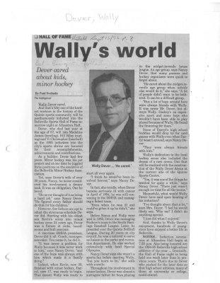 Wally's world