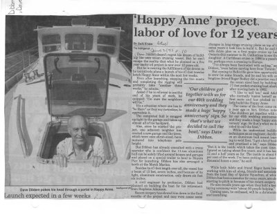 'Happy Anne' project labor of love for 12 years
