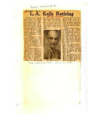 L.A. Kells Retiring