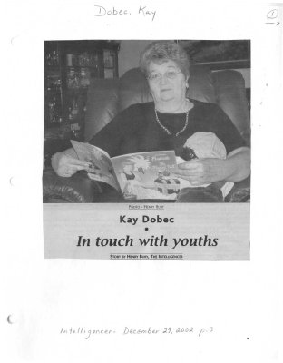Kay Dobec: In touch with youths