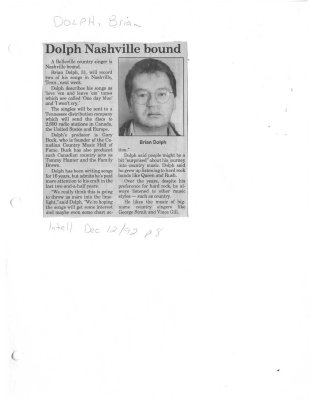 Dolph Nashville bound