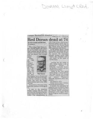 Red Doran dead at 74