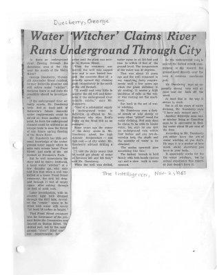 Water 'Witcher' Claims River Runs Underground Through City