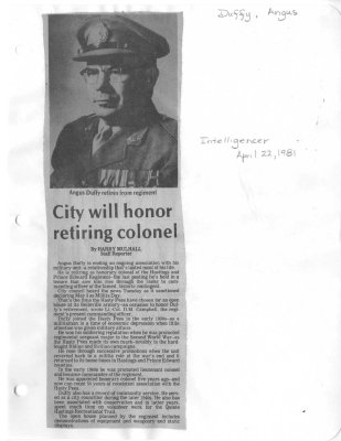 City will honor retiring colonel