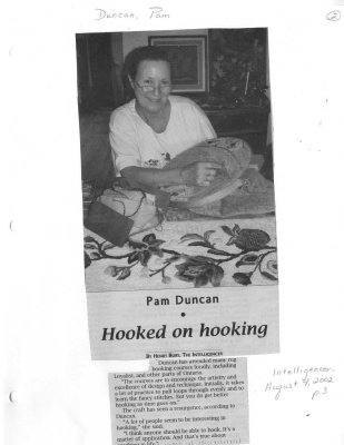 Pam Duncan: Hooked on hooking