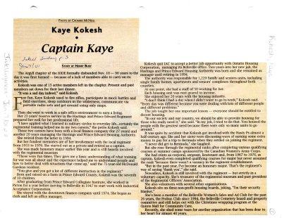 Kaye Kokesh - Captain Kaye