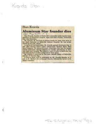 Aluminum Star founder dies