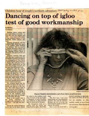 Dancing on top of igloo test of good workmanship