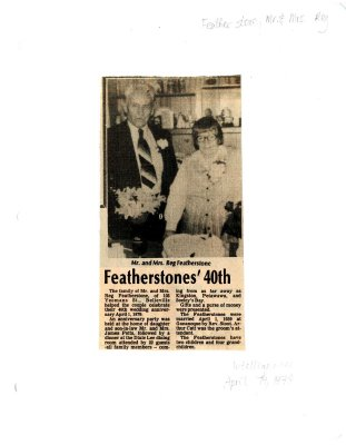 Featherstones' 40th