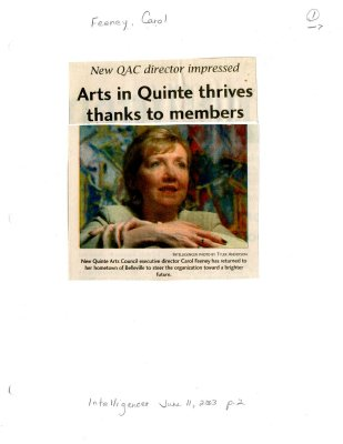 Art in Quinte thrives thanks to members