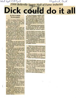 Dick could do it all