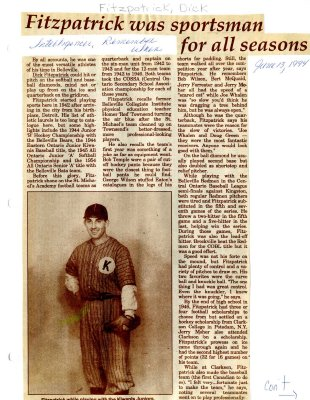 Remember when: Fitzpatrick was sportsman for all seasons