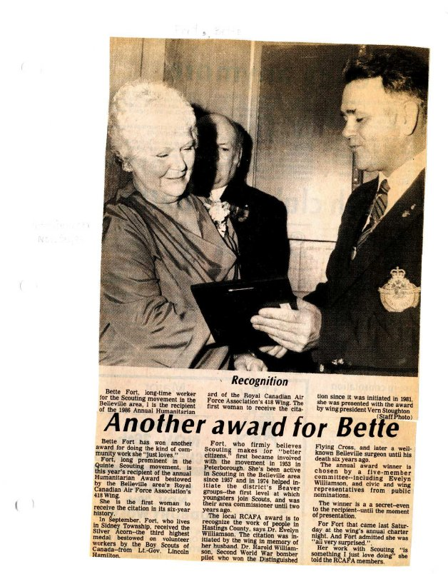 Another award for Bette