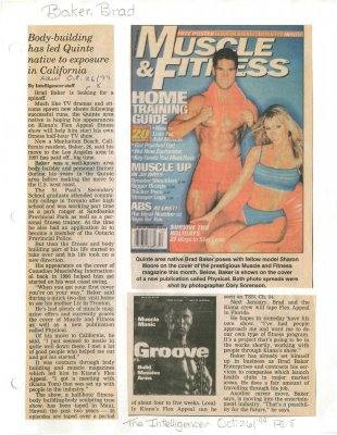 Body-building has led Quinte native to exposure in California