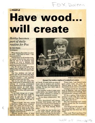 Have wood... will create