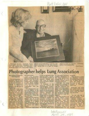 Photographer helps Lung Association